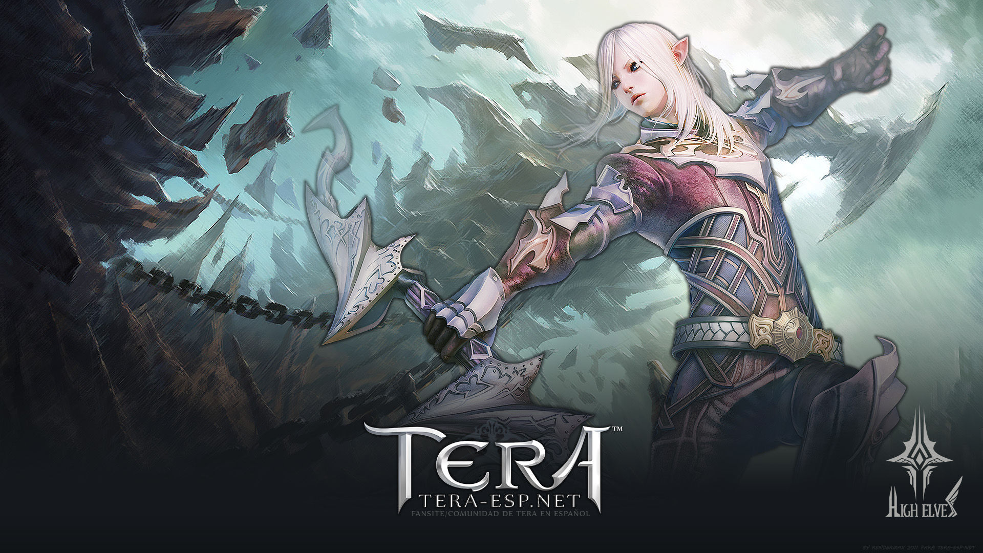 TERA High Elf Male Wallpaper by rendermax