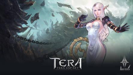 TERA High Elf Female Wallpaper by rendermax
