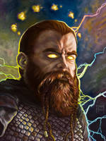 Thor as Donar by samflegal