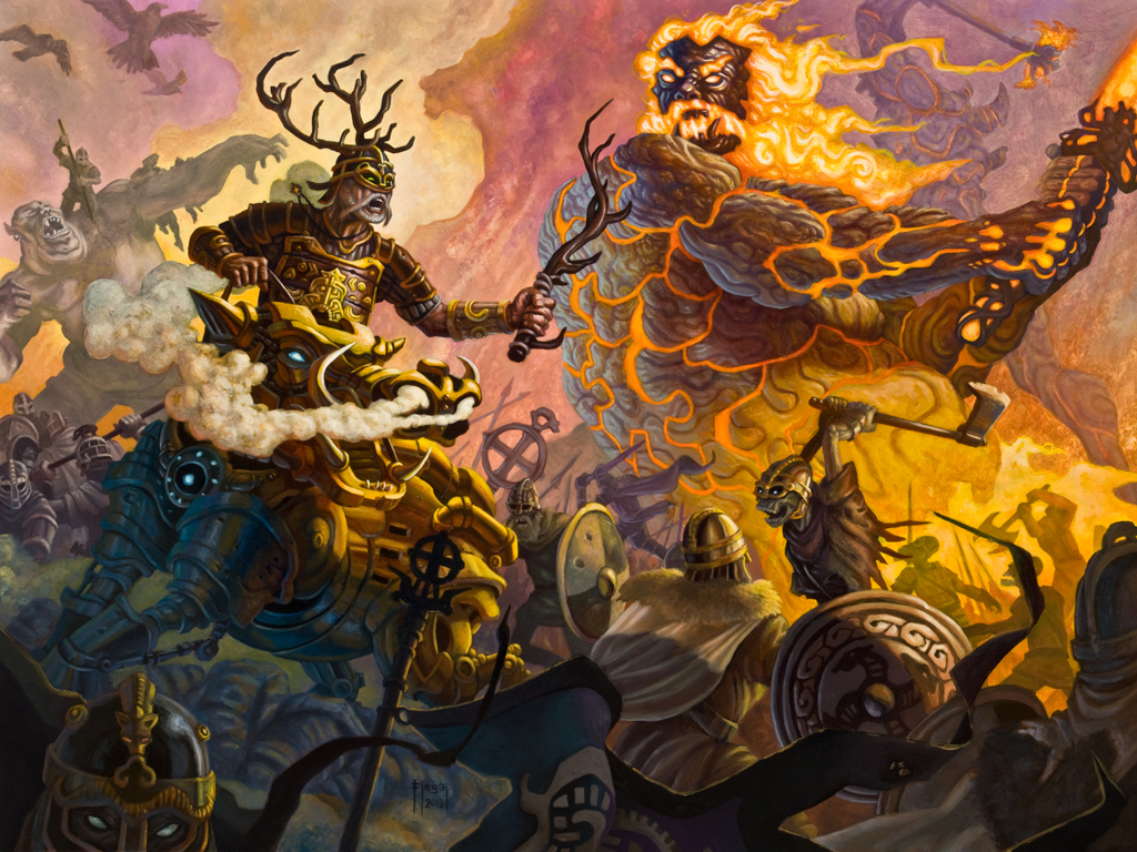 We have Ymir, why not Surtur? We have Freya, why not Freyr ...