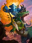 Warhammer Lizardmen - Spawn of Itzl