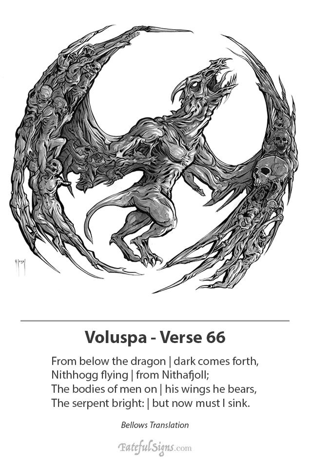 Voluspa Verse 66 by samflegal