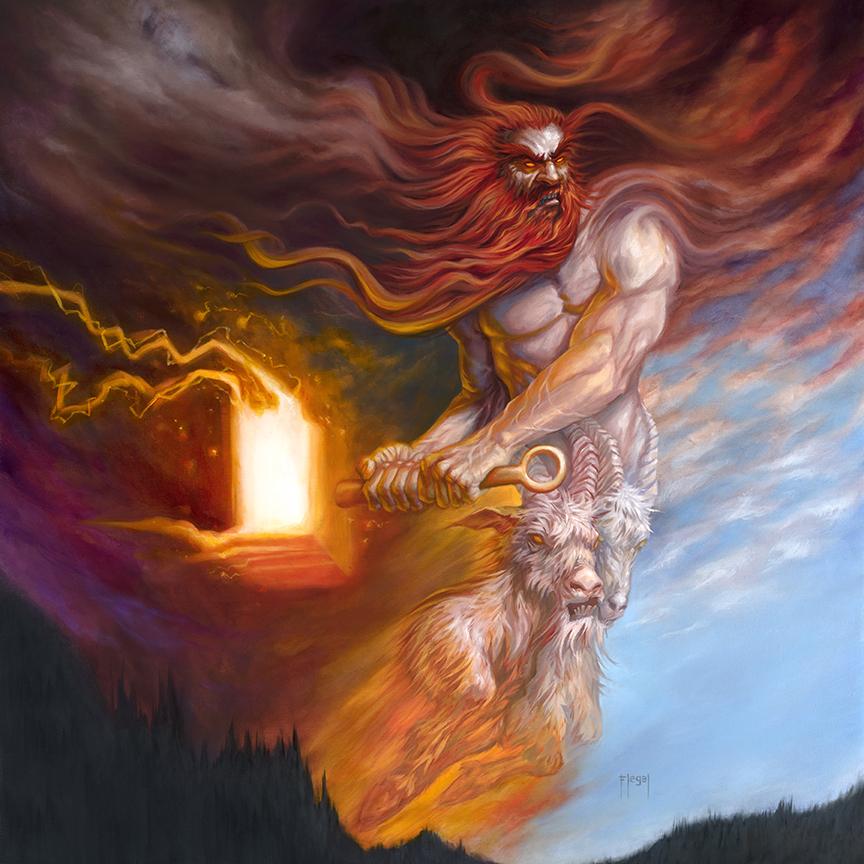 Elemental Thor by samflegal