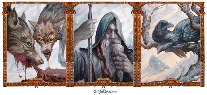 Odin Triptych