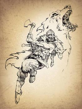 Ulfhednar - Viking Wolf Warrior