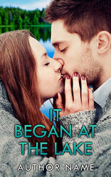 It Began at the Lake Premade Cover