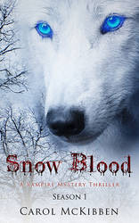 Snow Blood Book Cover (Season 1) by Everpage