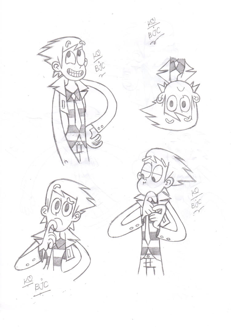 The Different Frames of Billy Joe Cobra by loony-pencil on DeviantArt