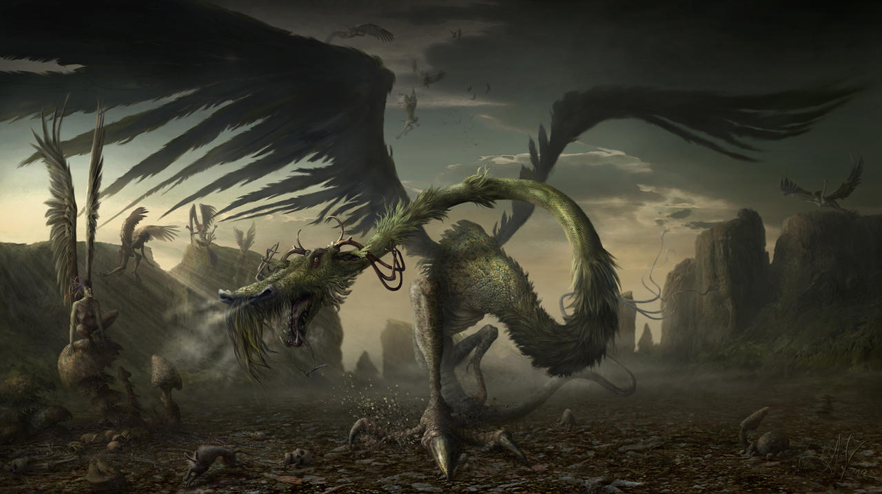 Dragon by AleksanderKarcz