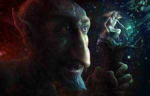 Elf And Gnome by AleksanderKarcz