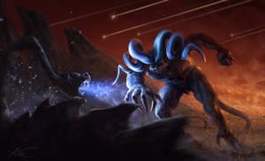 Fight Monsters by AleksanderKarcz