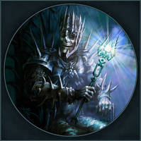 King of necromancers by AleksanderKarcz