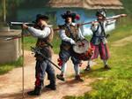 seventeenth century German infantry.
