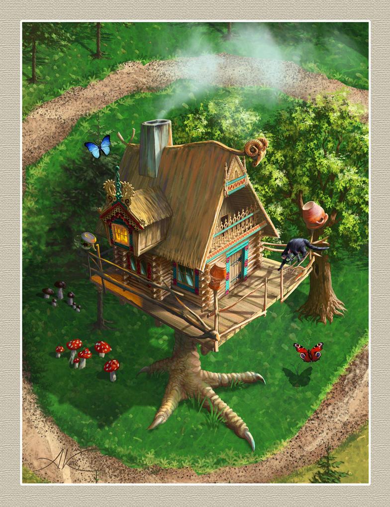 Witch hut by AleksanderKarcz