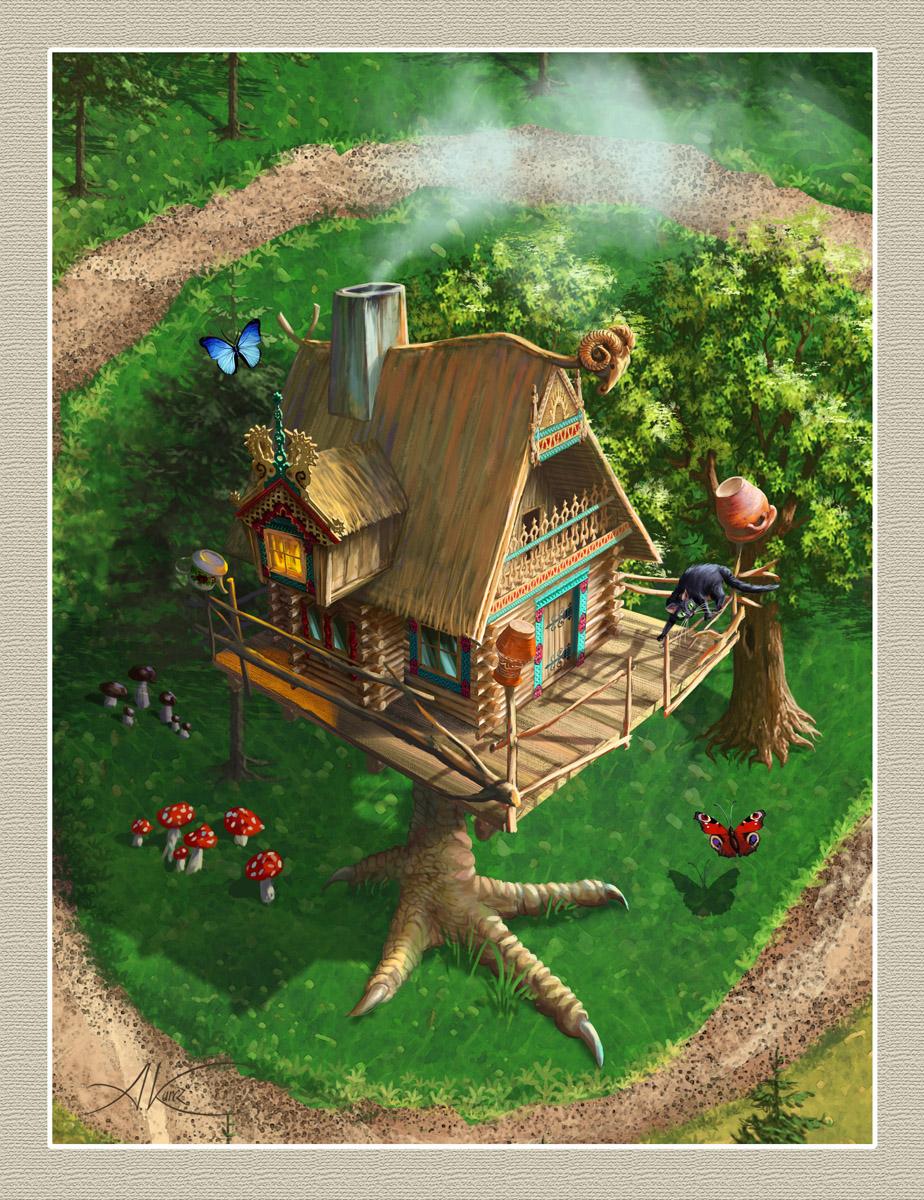 Witch hut