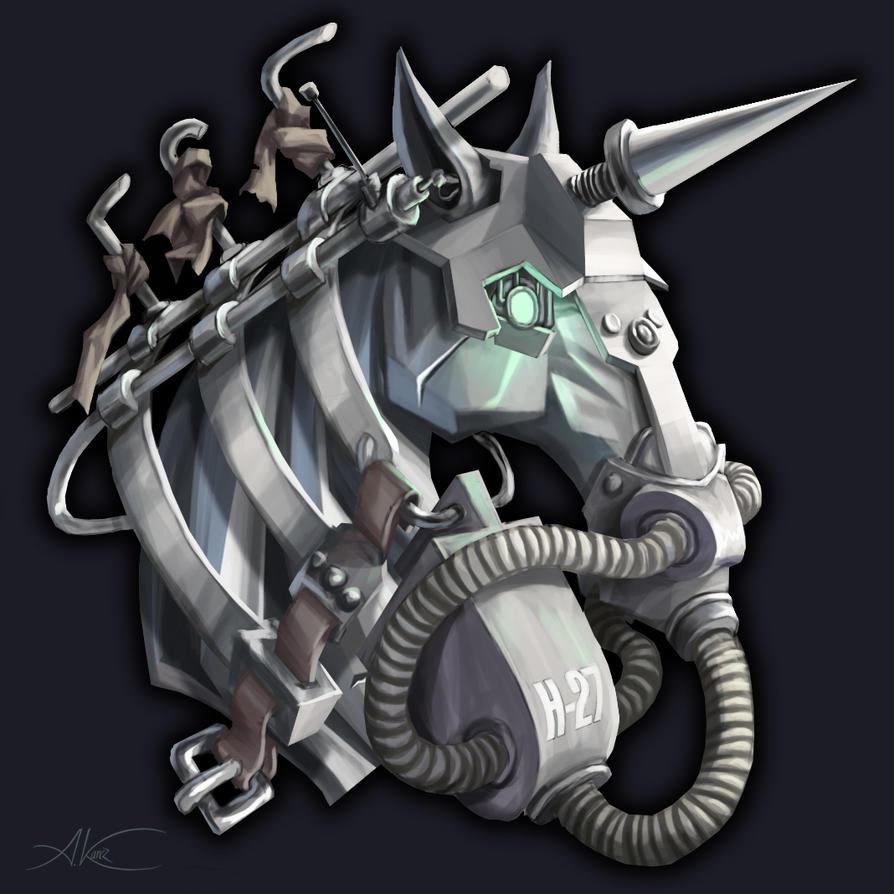 Unicorn by AleksanderKarcz