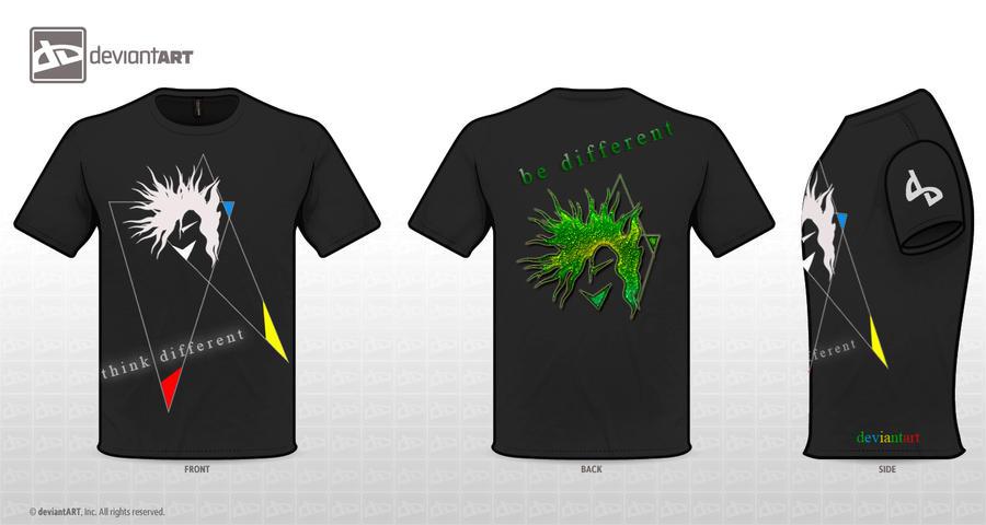 T-Shirt Design.10 by MASKIES