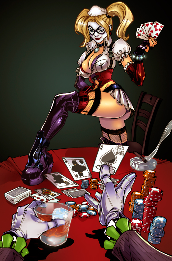 Strip Poker by Gwendlg on DeviantArt