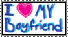 I love my boyfriend stamp by BriThePurpleKittyCat