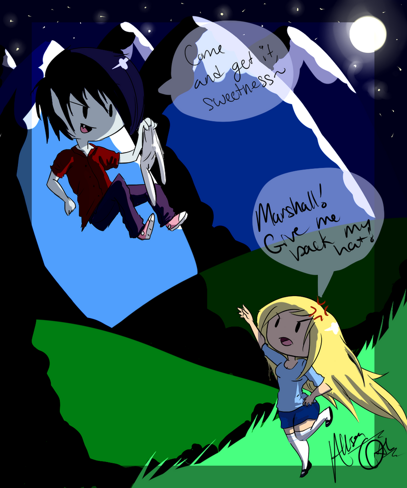 .:Adventure Time-Nighttime Shenanigans:. by Orthgirl123
