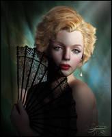 A Portrait In Shadows by pixeluna