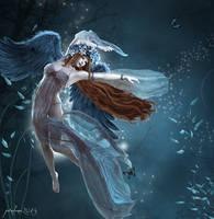 Dance of an Angel by pixeluna