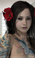 Mitsuko by pixeluna