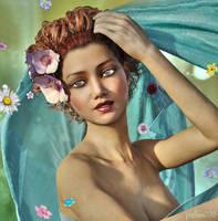 Flower Shower by pixeluna