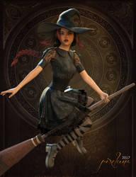 Witchykin by pixeluna