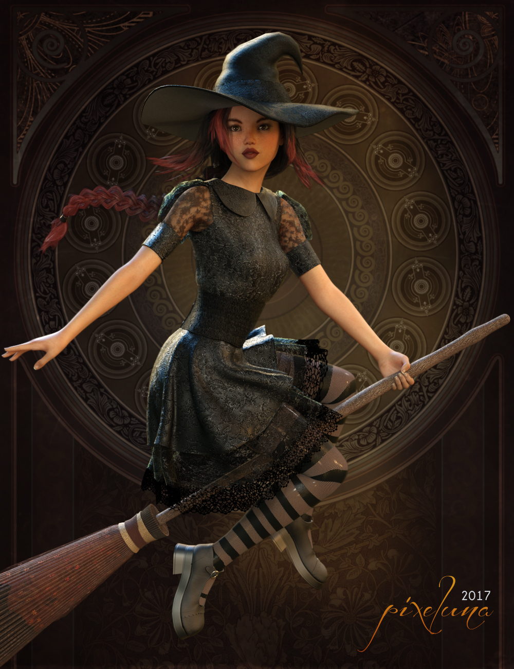 Witchykin by pixeluna