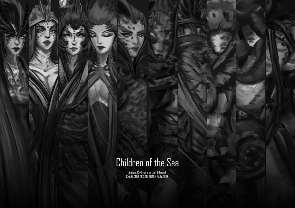 Children of the Sea by AntonParadigm
