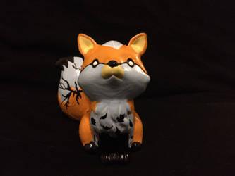 ~Fox Painting 1 by blueshywolf124
