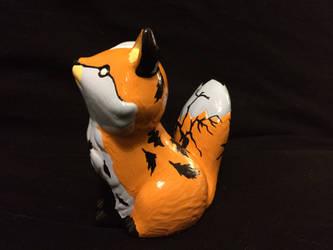 ~Fox Painting 2 by blueshywolf124