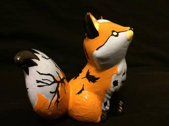 ~Fox Painting 4 by blueshywolf124