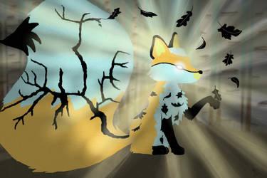 Light of the Fallen Leaf by blueshywolf124