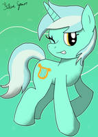 Lyra Heartstrings by Feline-gamer