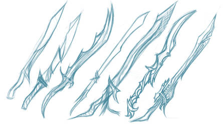 Some Sword Concepts/Sketches.