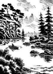 Black Landscape 2