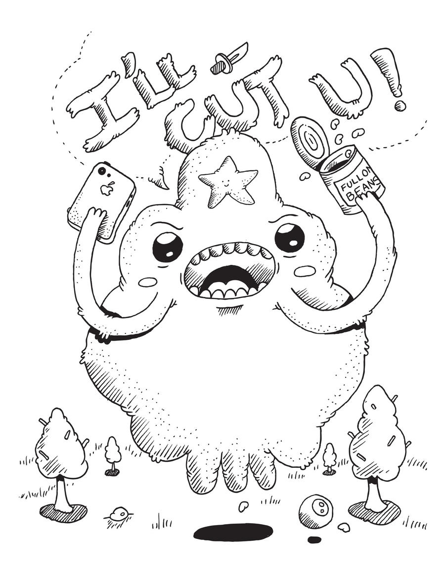 lumpy coloring pages - photo#29