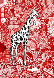 giraffe by beaulivres