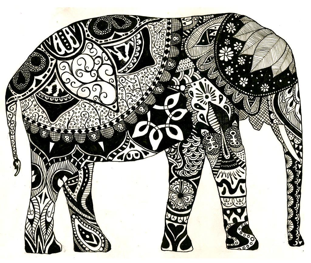 Elephant Drawing Tumblr | Amazing Wallpapers