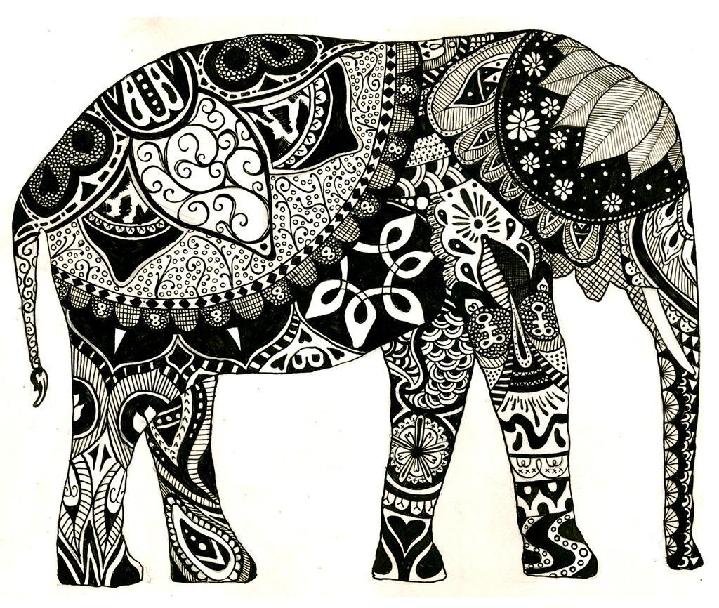 Elephant By Beaulivres On DeviantArt