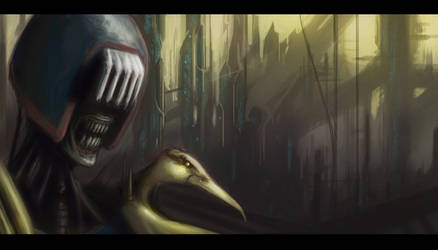Judge Death by Cluly
