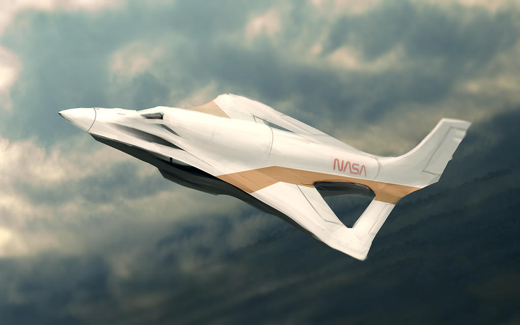 Nasa Concept Aircraft by Cluly on DeviantArt