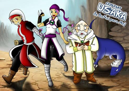 Cosplay Usaka 2012 (Para Mej! :D)
