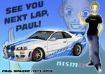 Homenaje a Paul Walker (1973-2013)