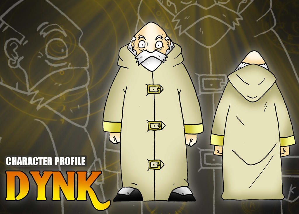 Ficha de personaje estilo RPG - Dynk