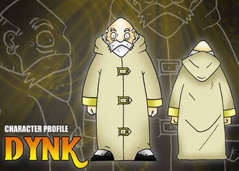 Ficha de personaje estilo RPG - Dynk by BoNoi