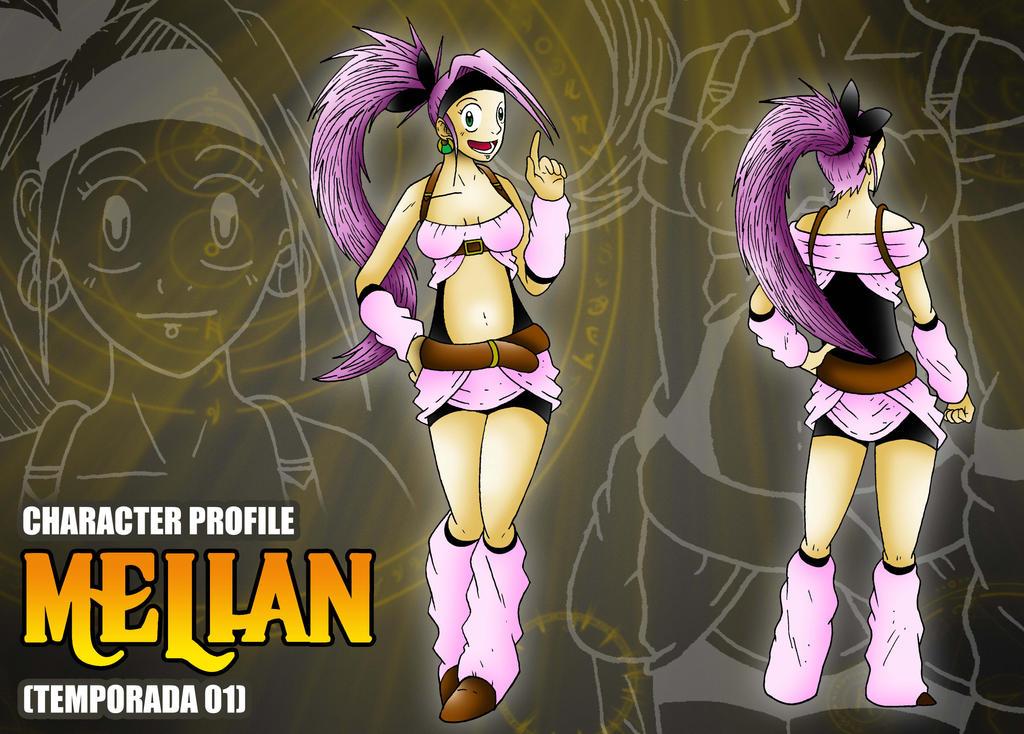 Ficha de personaje estilo RPG - Melian by BoNoi