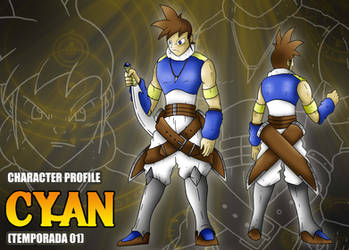 Ficha de personaje estilo RPG - Cyan